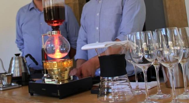 Café al Vacio en Celler de Can Roca